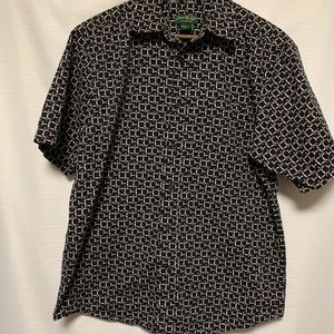 David Taylor Collection short sleeve shirt size M